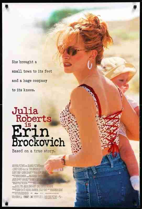 Movies with strong empowered female leads - Erin Brockovich Review