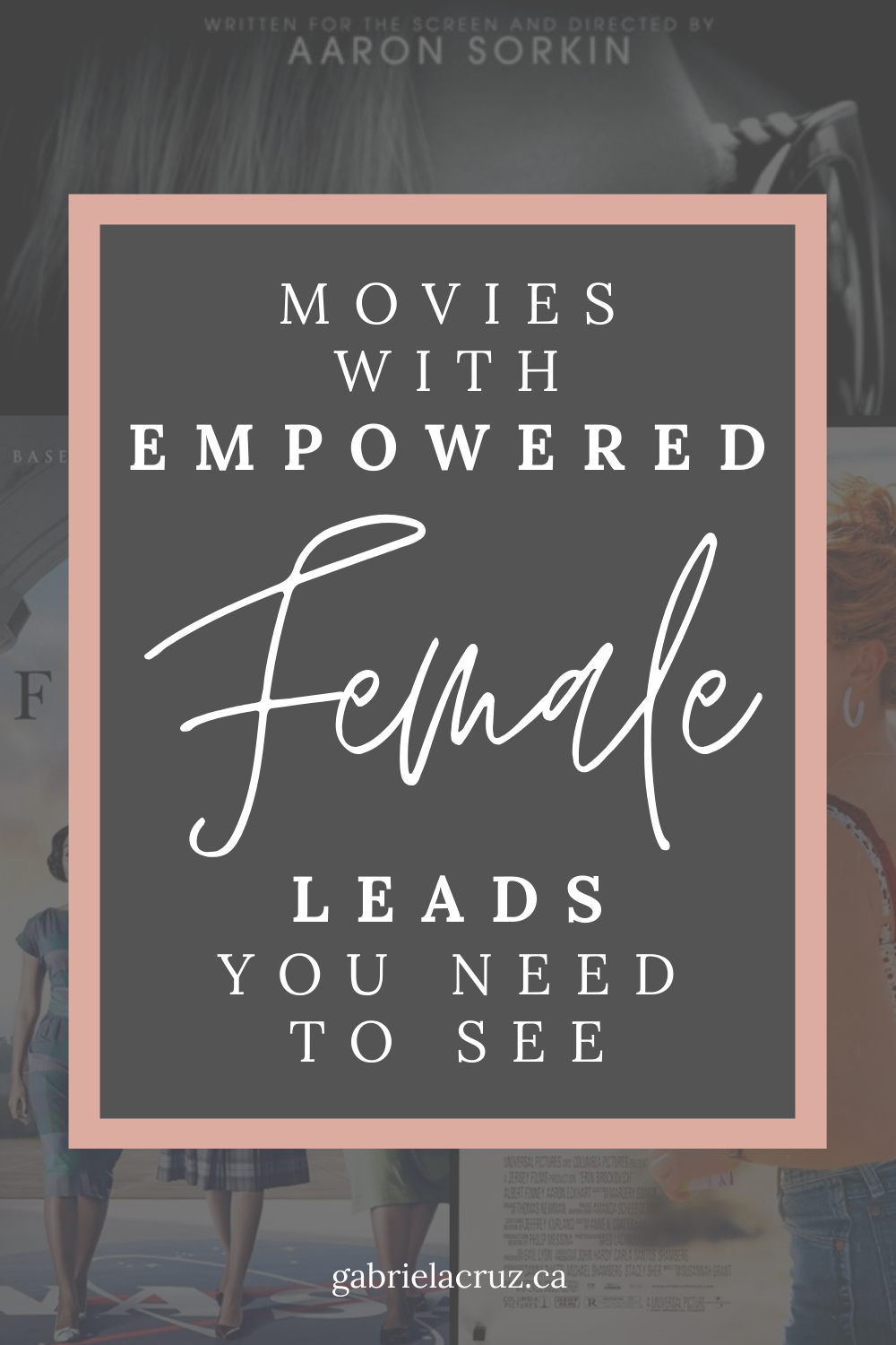 Movies with empowered female leads you need to see | #empowerment #femaleempowerment #empoweredwomen