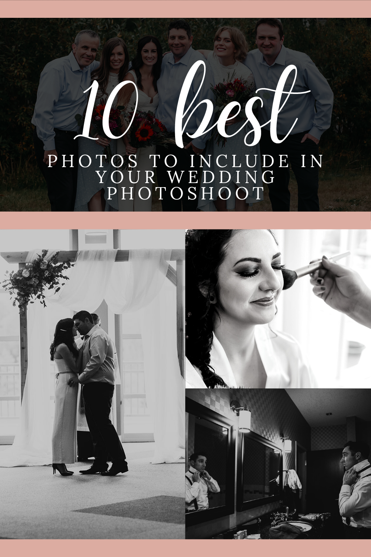 Professional Edmonton photographer Gabriela Cruz shares her clients' top 10 favourite wedding photo ideas!