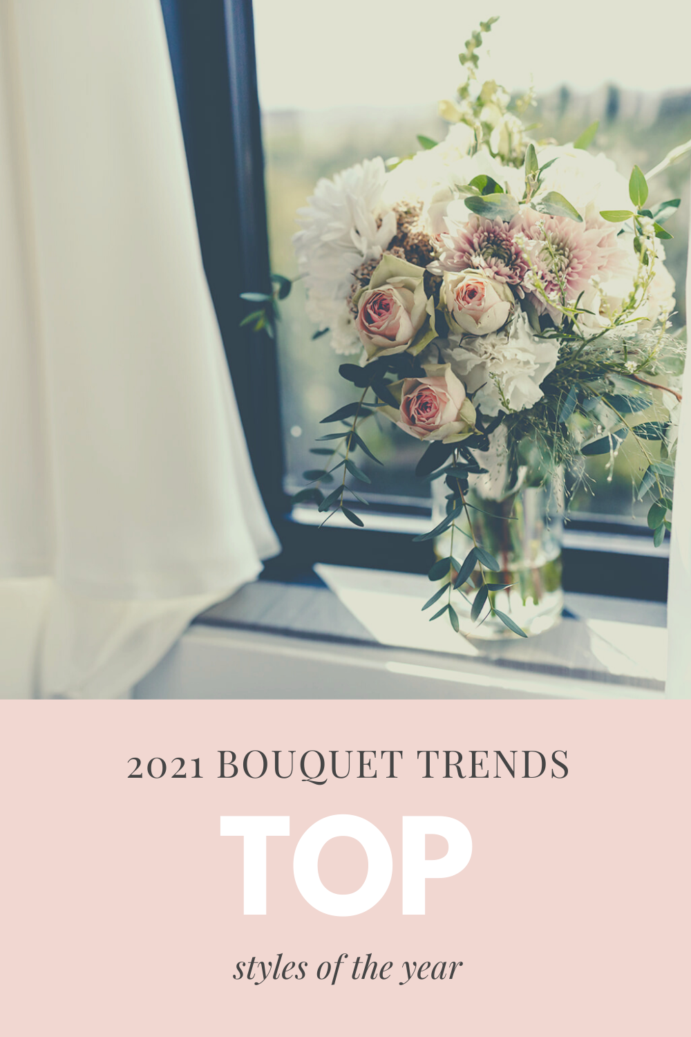 Explore the most popular types and styles of wedding bouquet styles plus a few important tips when it comes to choosing your flowers.