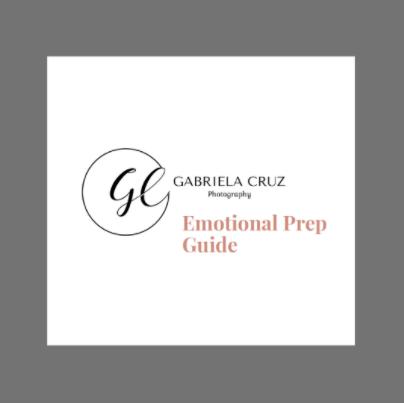 A guide to boudoir photography:  Gabriela Cruz emotional prep guide