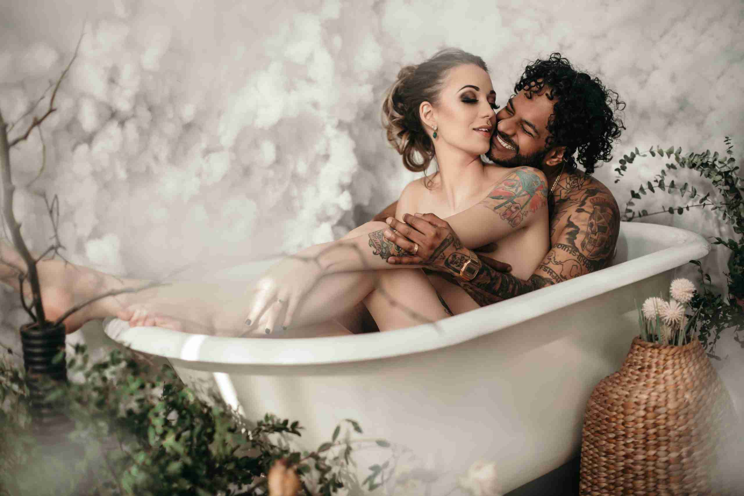 couples boudoir photography in Vancouver